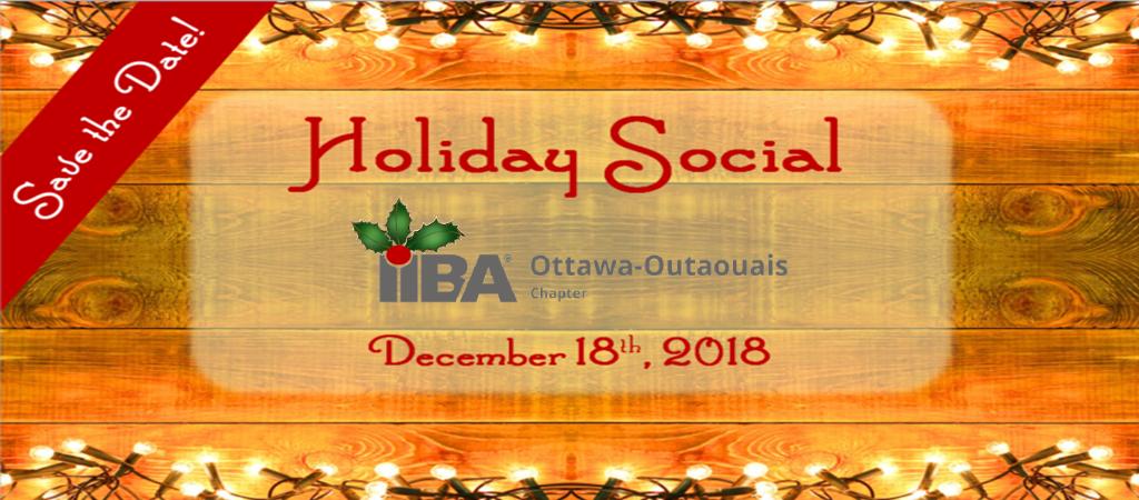 Holiday Social December 18